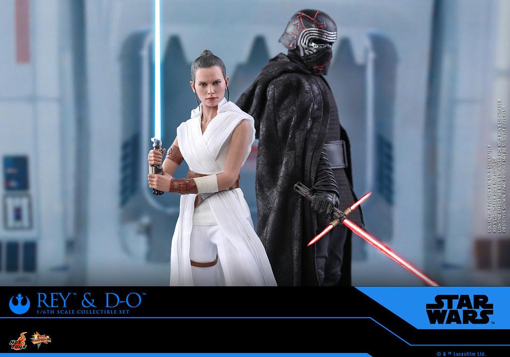 Hot Toys - MMS559 -《STAR WARS:天行者的崛起》芮 & D-O  Rey and D-O 1/6 比例人偶套組