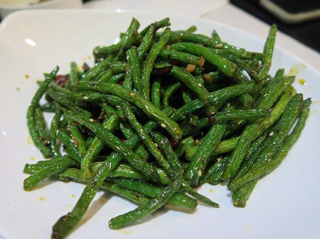 Dry Cooked Green Beans - Le Pont de Sichuan, Paris
