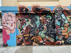 Murals at 23rd and Capp