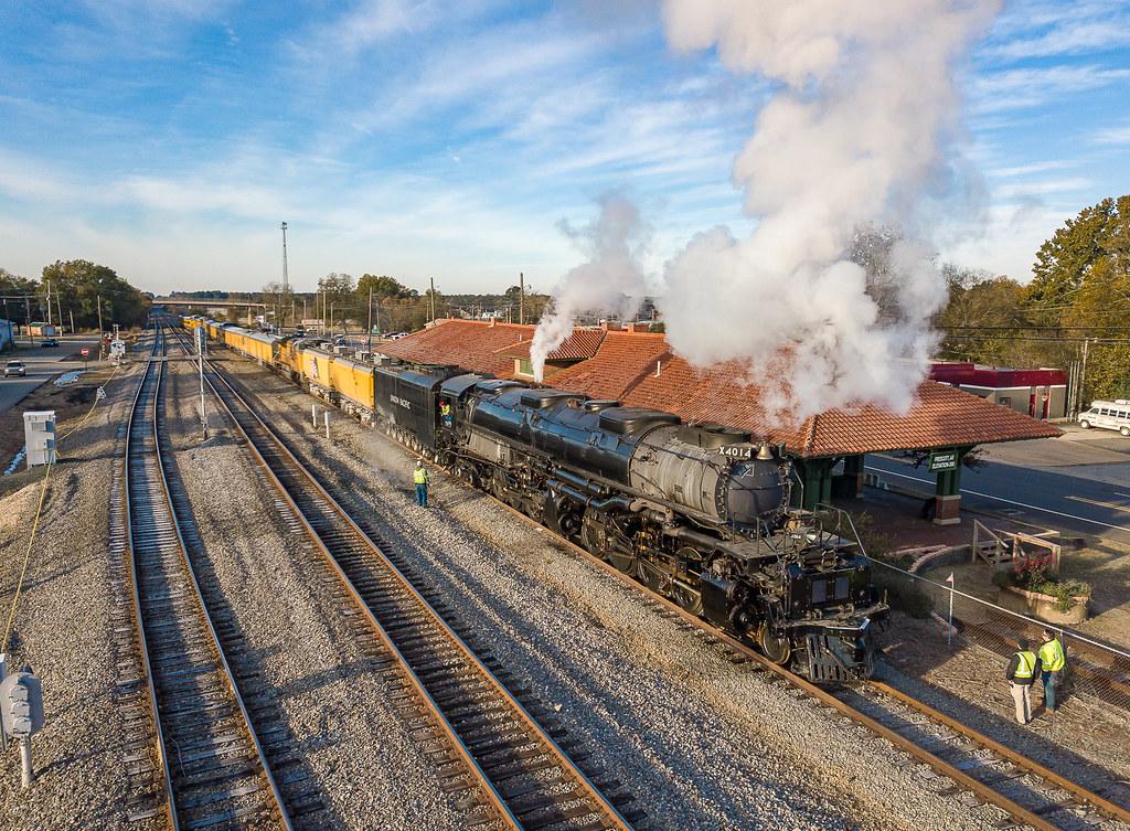 Union Pacific UP 4014 (4-8-8-4) Big Boy Prescott, Arkansas