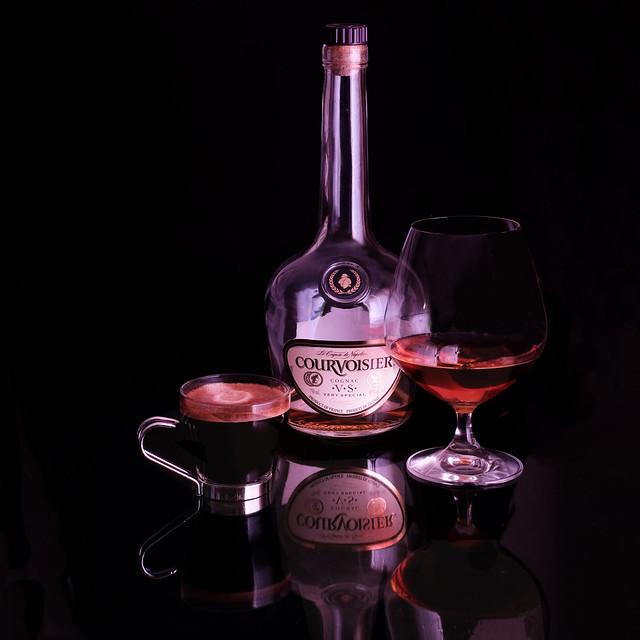 cognac and espresso