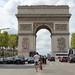 Paris : l'Arc de Triomphe de l'Etoile