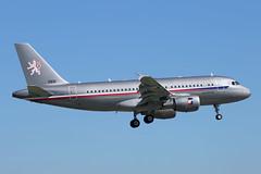 Czech Air Force A319CJ 2801  landing WAW/EPWA