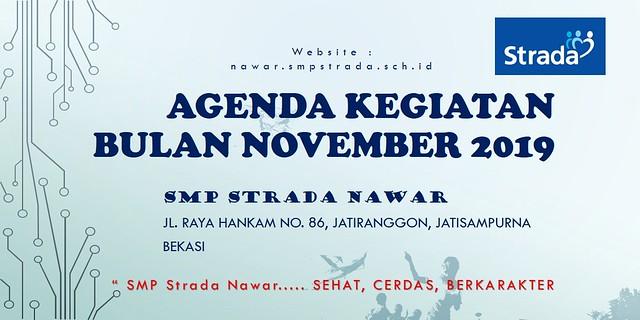 Agenda Kegiatan Bulan November 2019