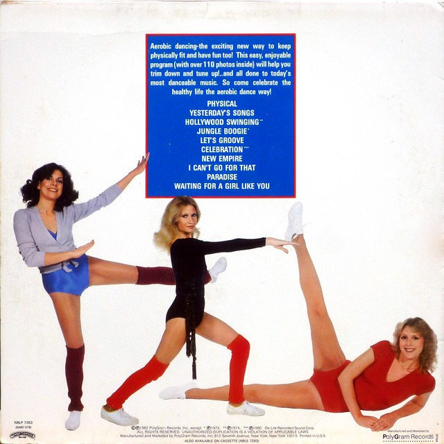 Aerobic Dance Hits - Back Cover