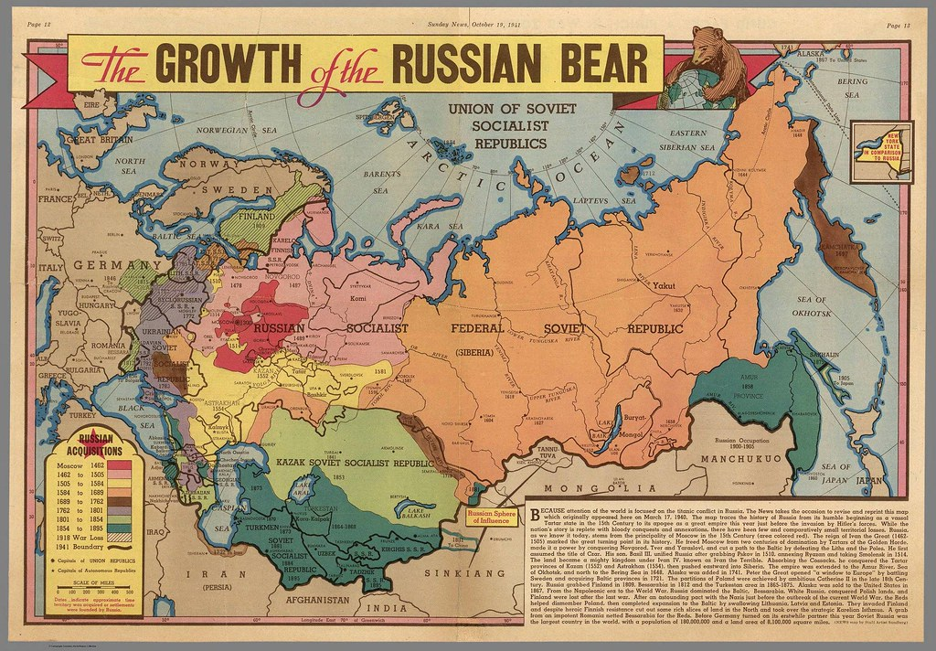 The Growth of the Russian Bear