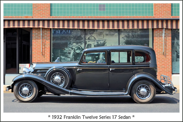 1932 Franklin Twelve Series 17 Sedan