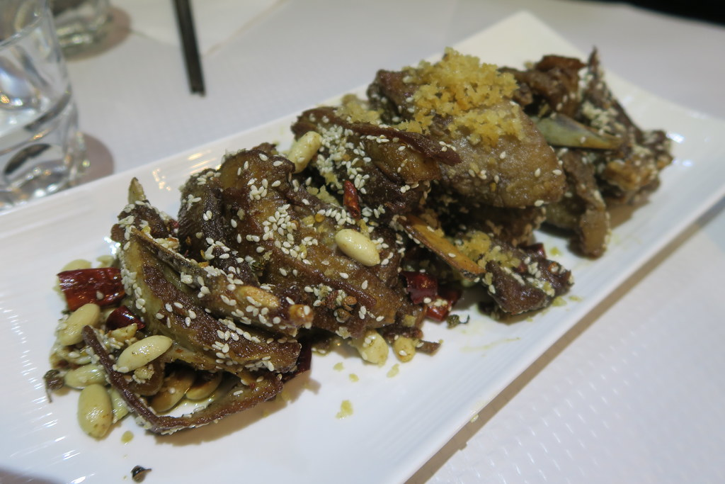 Crispy Lamb with Cumin - Le Pont de Sichuan, Paris