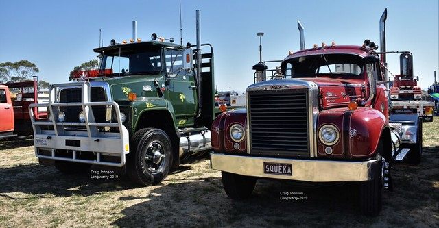 Two Classics a Ford and Mack at Longwarry