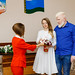 The newlyweds learn how to prevent domestic conflicts and violence