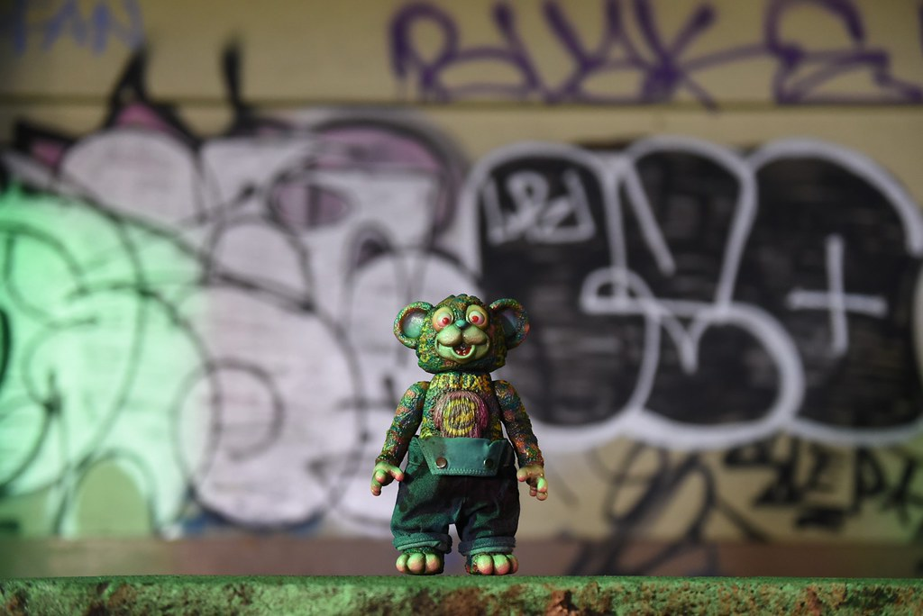 【MILKBOY TOYS × 西門靖】快到西門町尋找小丑塗鴉,潮味十足的 One-Off「IT Bear」等你來抽~!