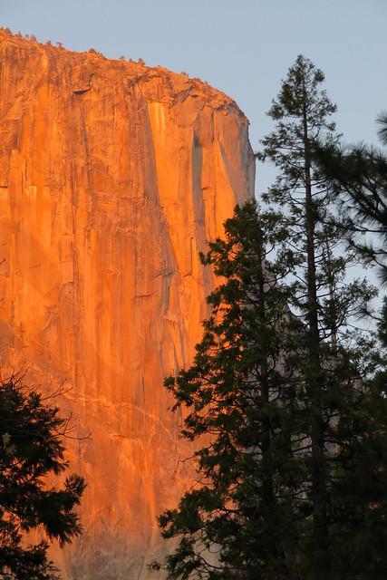 El Cap at Sunset