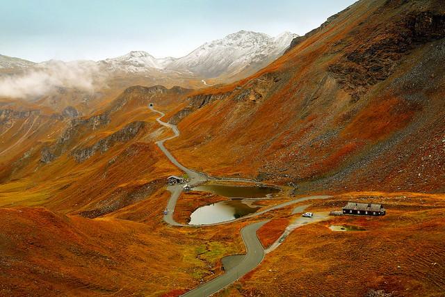 Charm of mountain roads
