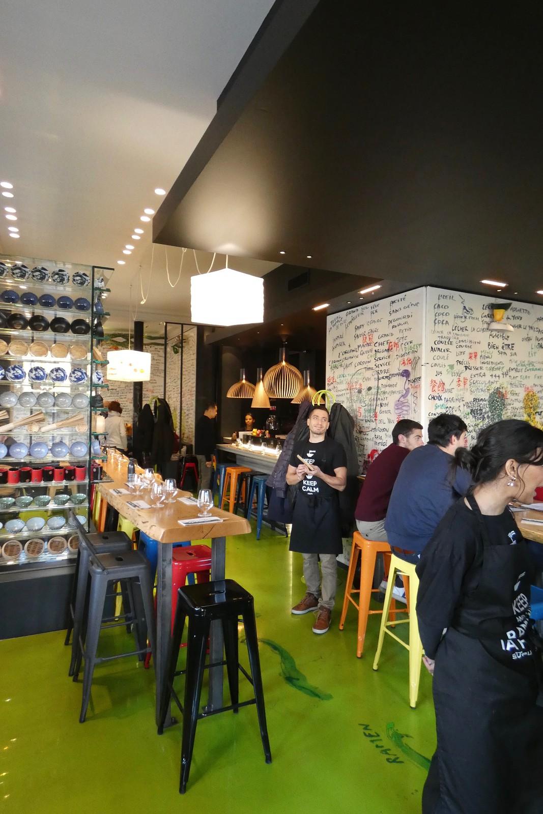 Restaurant Supu Ramen avec Guy Savoy, Paris