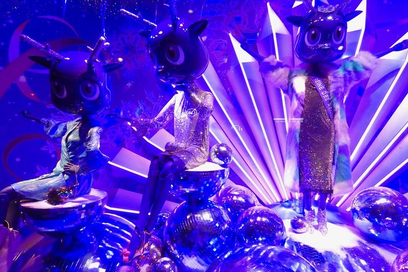Les vitrines de Noël 2019 au Printemps Haussmann