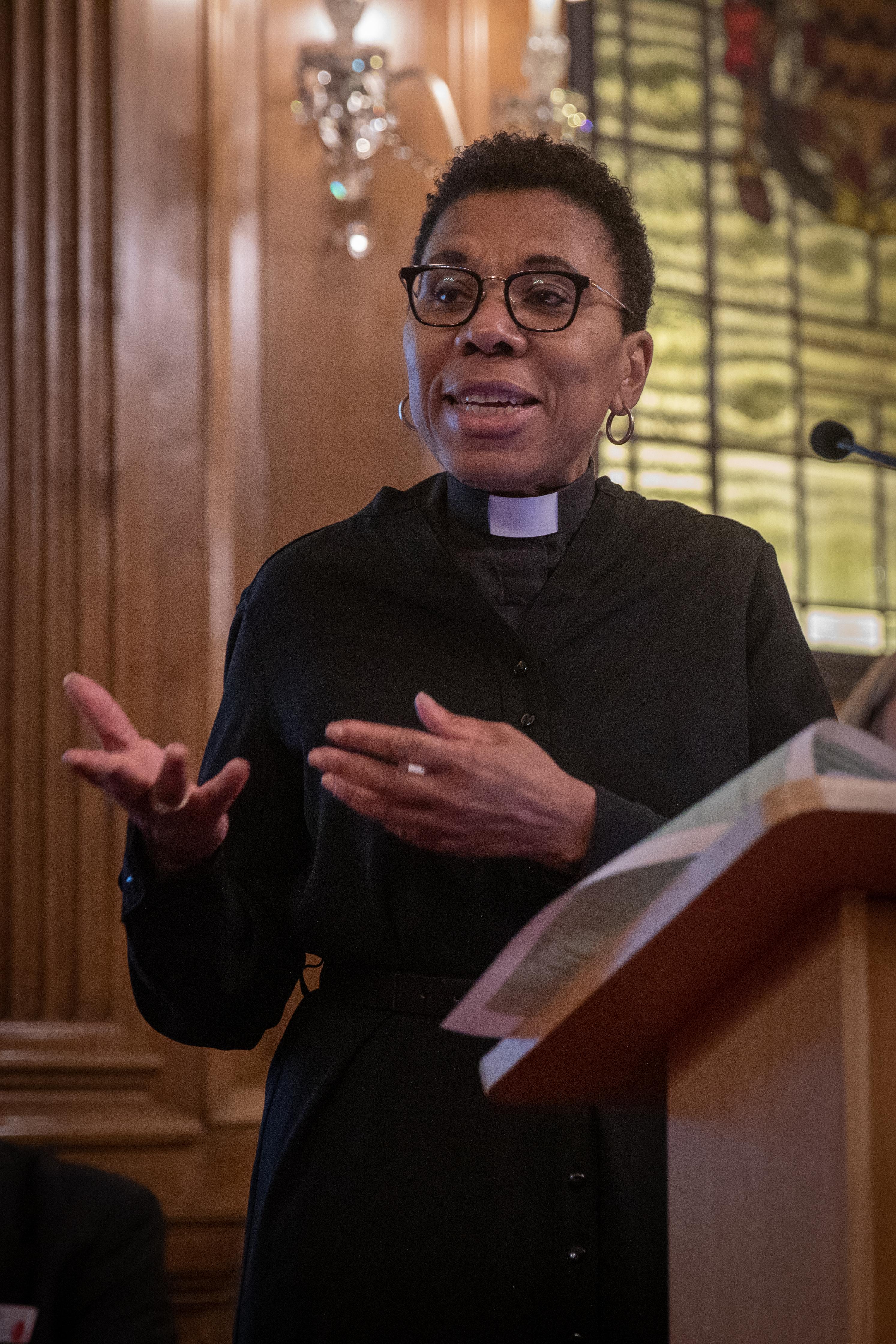 Rev Canon Rosemarie Mallett