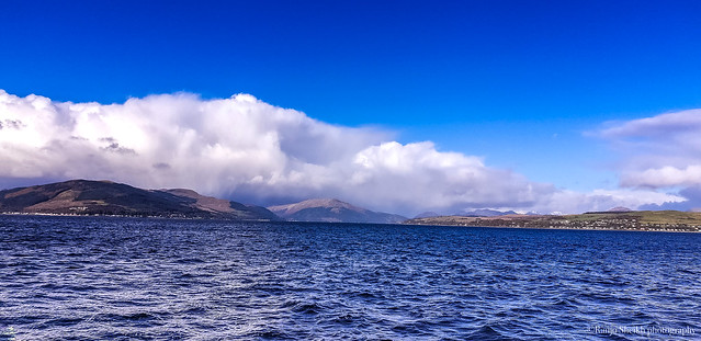 On the ferry from Greenock to hunters quay on my way to Scottish highlands 2 weeks ago.