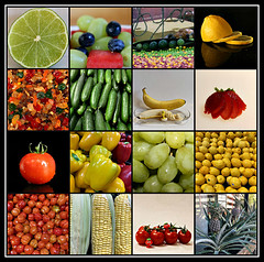 2019 Sydney: Fruit & Vegetables collage #17