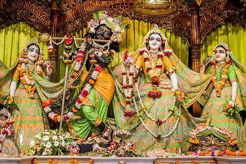 ISKCON Mayapur Deity Darshan 18 Nov 2019