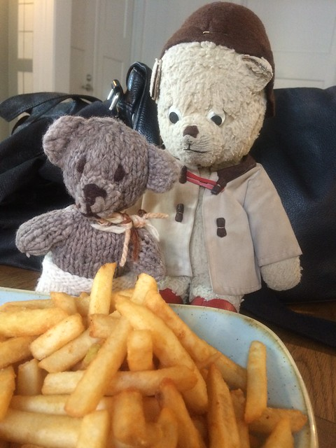 Paddington and Scout at the King Edward VII Sailors' Rest 2.
