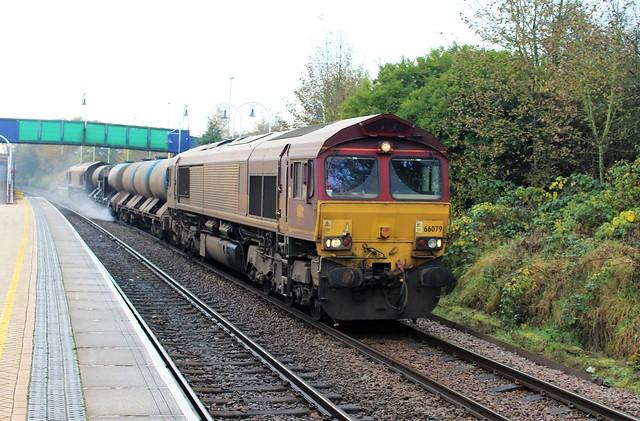 EWS - DB Cargo 66079 - Mansfield Woodhouse