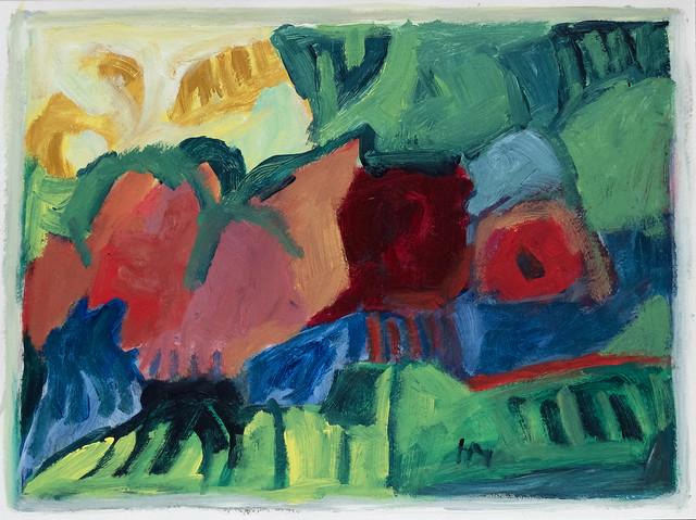 Garten abstrakte Komposition