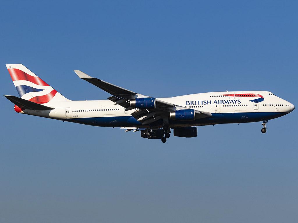 British Airways   Boeing 747-436   G-CIVA