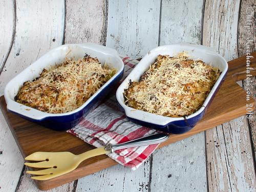 Spitzkohlauflauf mit Cabanossi und Kartoffeln (1)