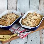 Spitzkohlauflauf mit Cabanossi und Kartoffeln