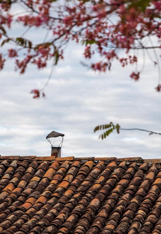 Fotografia em Palavras: Chaminé exterior
