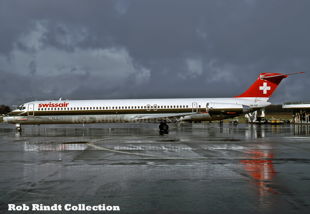 Swissair MD-81 HB-INF
