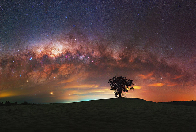 Milky Way at Darkan, Western Australia