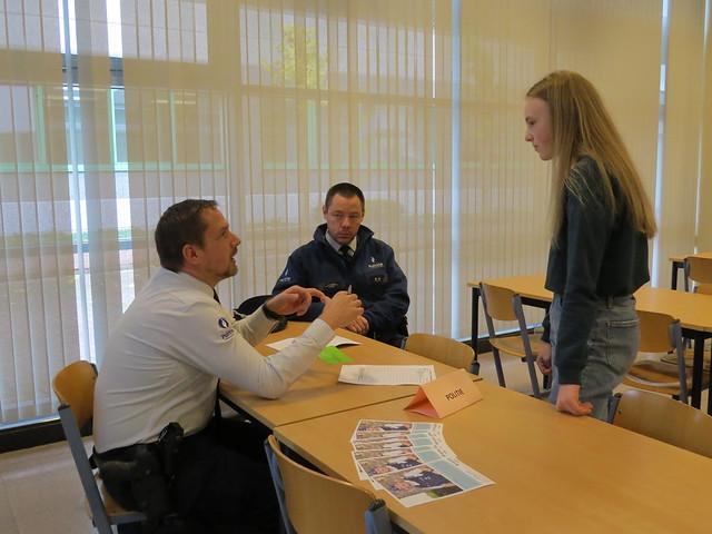 Leerlingen maken kennis met hulpverleningslandschap