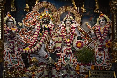 ISKCON Ujjain Deity Darshan 18 Nov 2019