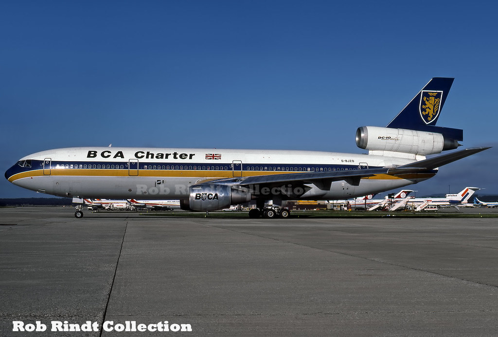 BCA Charter (British Caledonian) DC-10-10 G-BJZD