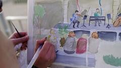 Certamen de Pintura Rápida 'Músico Ziryab' en Córdoba (8)