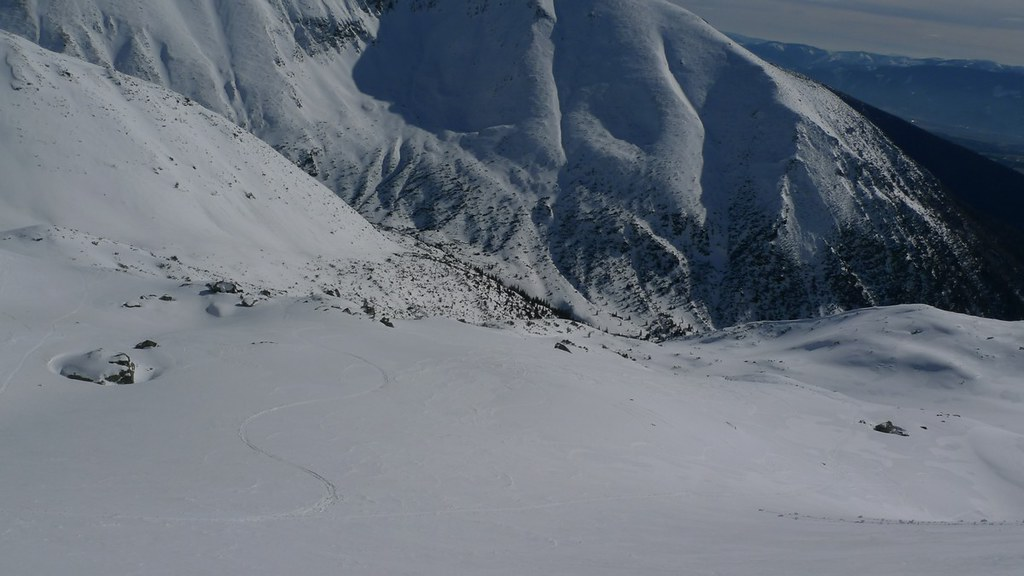 Hrubá kopa via Lúčne sedlo Západné Tatry Slowakei foto 33