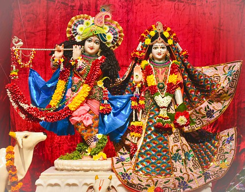 ISKCON Pune Camp Deity Darshan 18 Nov 2019