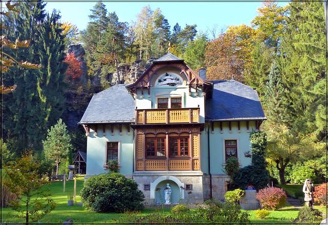 Villa Angela in Brausenstein (Oberes Bielatal)