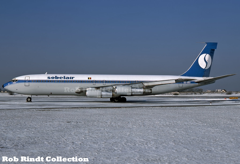 Sobelair B707-373C OO-SBU