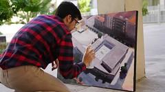 Certamen de Pintura Rápida 'Músico Ziryab' en Córdoba (2)
