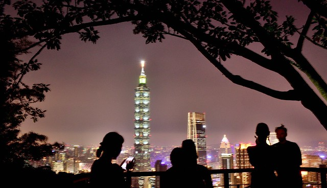 Night Taipei 101