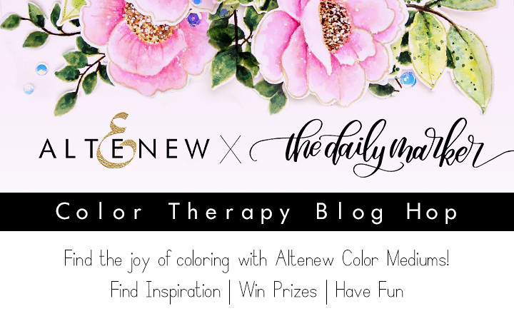 Color Therapy Blog Hop Graphic
