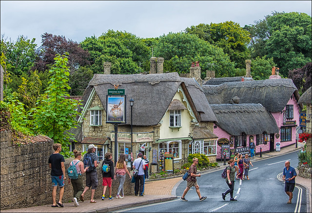 Isle of Wight, Shanklin old village ...