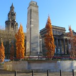 Autumn scene at Preston by the Cenotaph