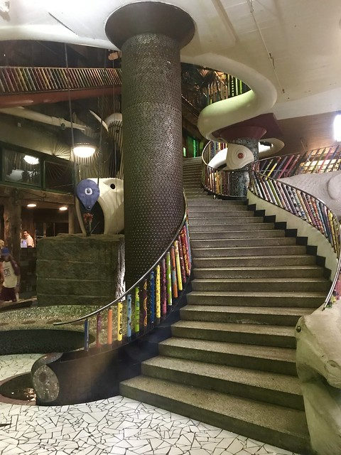 Interior Stairs at The City Museum, St. Louis