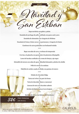 Navidad, San Esteban, Hotel Calipolis