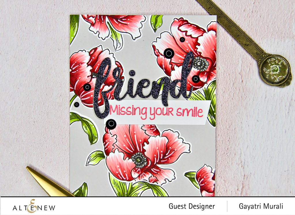 Altenew Color therapy blog hop card #2