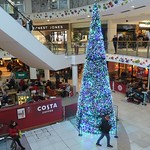 Festive tree inside St George's Shopping Centre