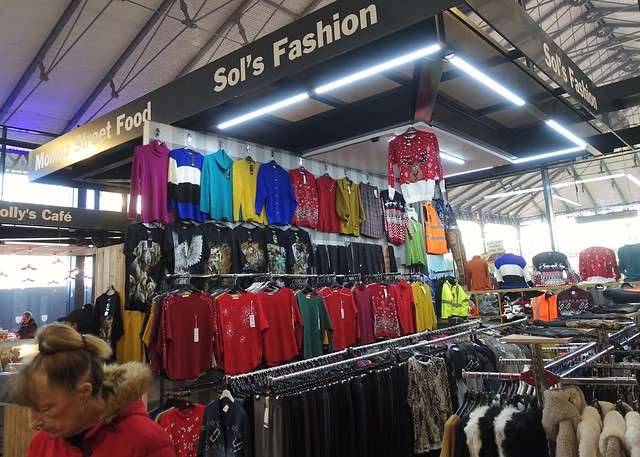 New Sol's Fashion stall at Preston Market